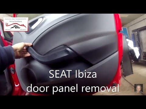 SEAT Ibiza  2008-2017  door panel removal