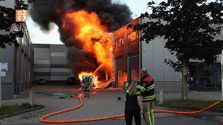 Grote brand op industrieterrein Mijdrecht