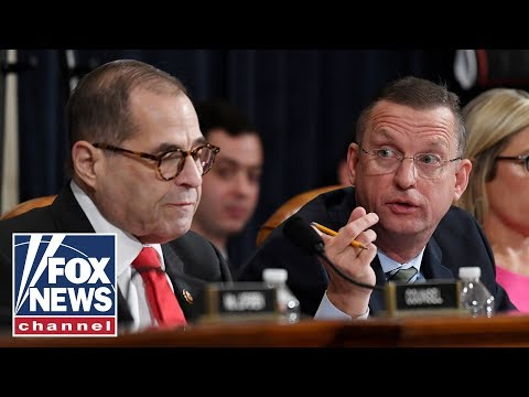 Impeachment hearing gets heated: Republicans demand a minority hearing day