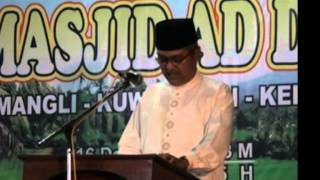 3 Ust Felix Masjid Ad Diin Mangli Kuwarasan  Kebumen
