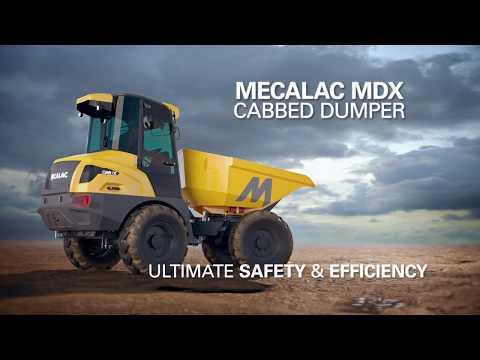 Mecalac MDX – New Mecalac Cab Dumper