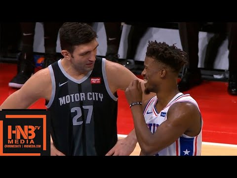 Philadelphia Sixers vs Detroit Pistons 1st Qtr Highlights | 12.07.2018, NBA Season