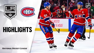 NHL Highlights | Kings @ Canadiens 11/09/19