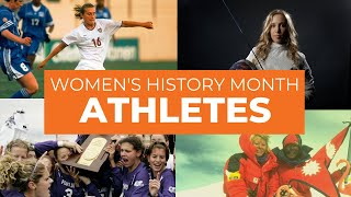 Womens History Month: Local Athletes
