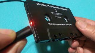 Bluetooth Car Cassette Adapter Audio Converter