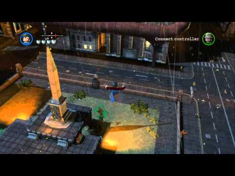 LEGO Batman 2 DC Super Heroes - Red Brick Guide - All Red Brick Locations
