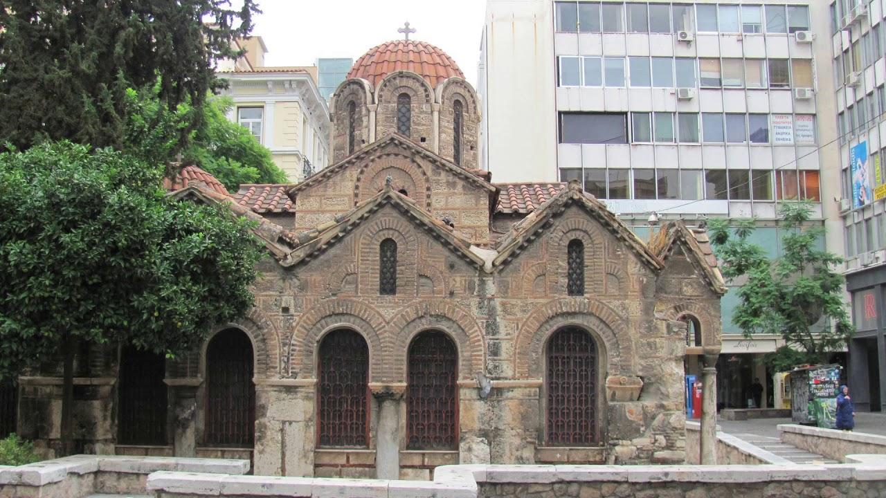 church of panaghia kapnikarea, church of panaghia kapnikarea, athens, greece