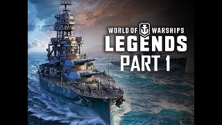 GERMAN INVASION !!! - World of Warships Legends Gameplay Walkthrough