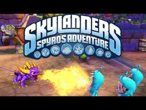 Видео № 0 из игры Skylanders Spyro's Adventure. Стартовый набор (Б/У) (без упаковки) [3DS]