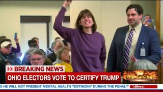 MSNBC Airs Liberal Freak-Out After Electors Vote For Trump