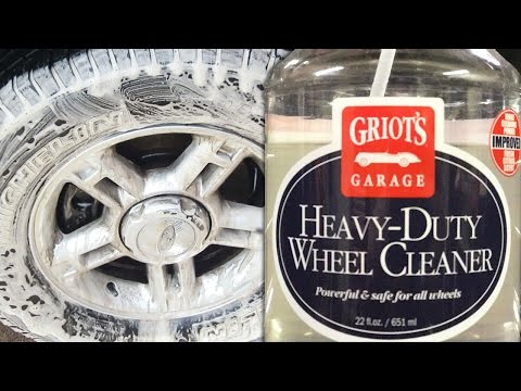 GRIOT'S GARAGE HEAVY DUTY WHEEL CLEANER: Review, How To Use, Full Results – Auto Detailing Video