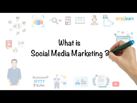 , title : 'Social Media Marketing In 5 Minutes | What Is Social Media Marketing? [For Beginners] | Simplilearn