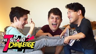 7 Second Challenge: KNOCK-OFF DAN & PHIL