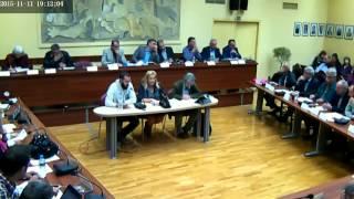 Συνεδρίαση Δημοτικού Συμβουλίου του Δήμου Ελληνικού - Αργυρούπολης | 11/11/2015