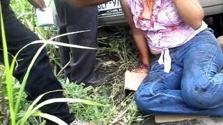 preview picture of video 'Accidente En la carretera 180 coatzacoalcos- cardenas KM 116 (carretera maldita) Part. 1'