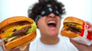 THE BEST FAST FOOD BURGER? (In-N-Out vs Five Guys)