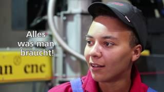 Lehrlinge im Bild: Maschinenbautechnik (Jessica)