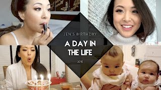 A DAY IN THE LIFE | Birthday Sushi, Aria's Baby Cousin Visits