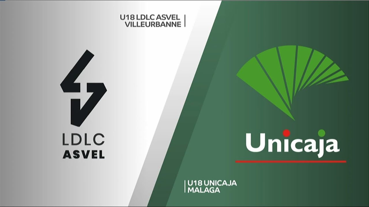 U18 - ASVEL vs UNICAJA MÁLAGA. Euroleague B. Adidas Next Generation Tournament. Valencia 2020