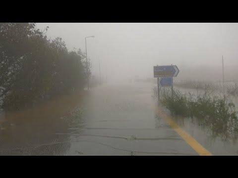 Κρήτη: Εντονα πλημμυρικά φαινόμενα σε Οροπέδιο Λασιθίου και Καστέλι Πεδιάδος