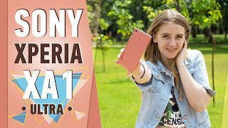 SONY XPERIA XA1 ULTRA: РОЗОВАЯ ЛОПАТКА