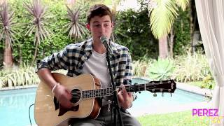 "Shawn Mendes - ""The Weight"" (Exclusive Perez Hilton Acoustic)"