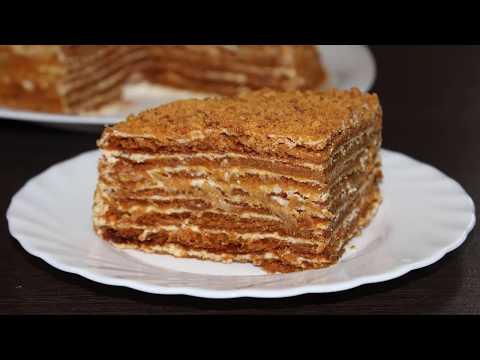 Торт медовик по классическому рецепту. Кулинария. Рецепты. Понятно о вкусном. онлайн видео