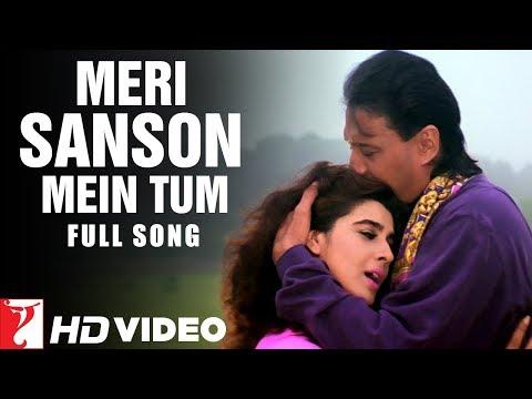 Meri Sanson Mein Tum | Full Song HD | मेरी साँसों में तुम | Aaina | Jackie, Amrita | Kumar, Asha