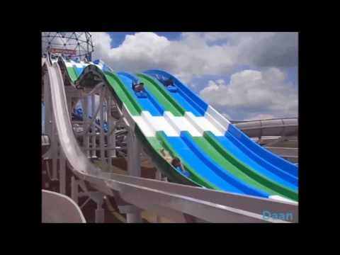 Multilane Water Slide