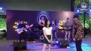 Ost Melodylan the movie Teman cintaku-Devano Danendra ft Aisyah Aqilah live