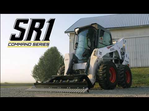 SR1 Command Series – Skid Steer Rake (Landscape & Driveway Rake)