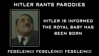 Hitler is informed the royal baby has been born