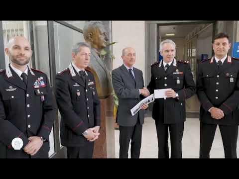 L'ARMA DEI CARABINIERI DONA 20 MILA EURO AL GASLINI PER LE ATTIVITA' DI ACCOGLIENZA