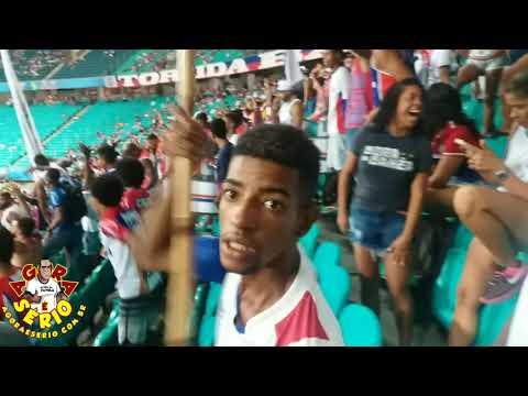 Repórter Favela na Arena Fonte Nova é Bahia Porra