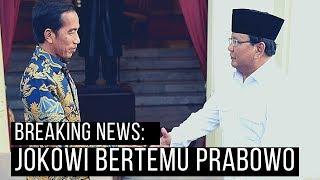 BREAKING NEWS - Pertama Kali, Jokowi Bertemu Prabowo seusai Pilpres 2019