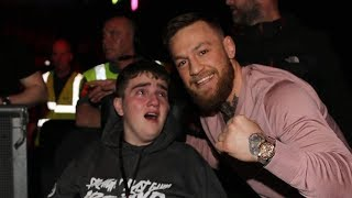 Conor McGregor Brings Fan To Tears With Kind Gesture At BAMMA 35