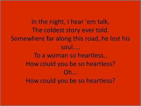 Heartless-Kanye West-Lyrics
