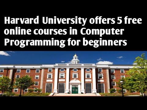 Harvard University offers 5 free online courses in Computer ...