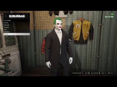 SUICIDE SQUAD: THE JOKER CHARACTER COSPLAY TUTORIAL (GTA 5