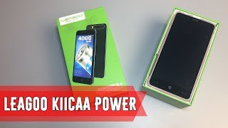 Смартфон LEAGOO Power 2 2/16GB Black от компании Cthp - видео 2