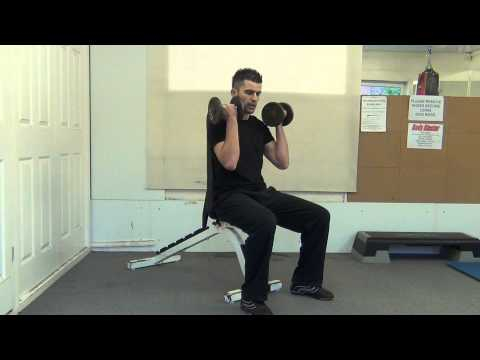 Dumbbell Seated Supination