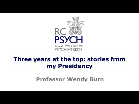 President's Lecture: Professor Wendy Burn