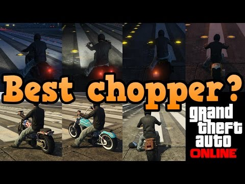 GTA online guides – Bikers DLC choppers
