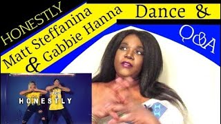 Matt Steffanina & Gabbie Hanna Honestly Dance & Q&A REACTION