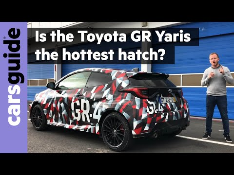 Toyota GR Yaris 2020 review: preview drive