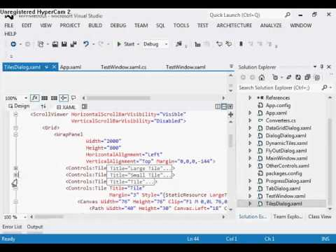 Metro UI Or Modern UI Application In WPF Using MahApps