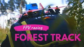 Vertical frame FPV racing - 2020 outdoor race training #6