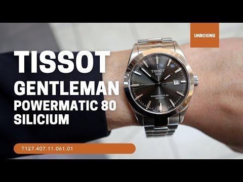 Tissot Gentleman Powermatic 80 Silicium T1274071106101