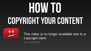How to copyright your video and music for Facebook and Youtube
