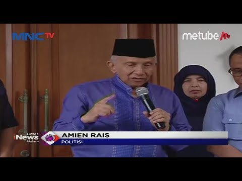 Pascapertemuan Jokowi-Prabowo, Amien Rais Buka Suara - LIM 15/07